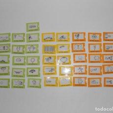 Coleccionismo Cromos antiguos: LOTE 41 CROMOS, VENTANA MAGICA, BOLLYCAO, TODOS DIFERENTES Y EN BUEN ESTADO, COLECCION CASI COMPLETA. Lote 236103270