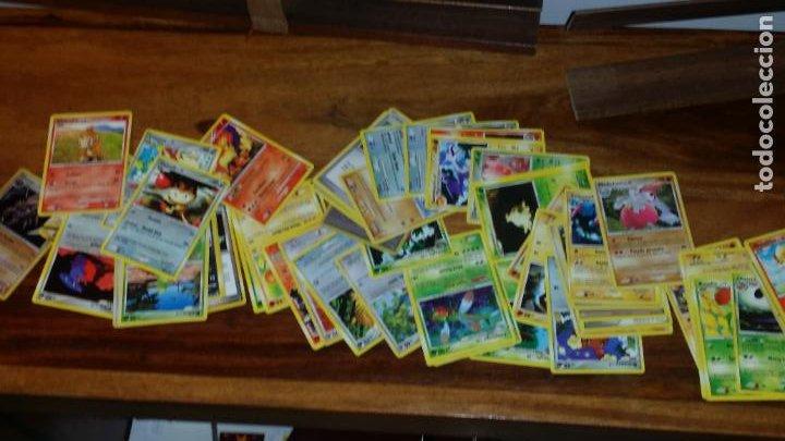 Coleccionismo Cromos antiguos: lote de 85 cromos de pokemon, cartas - Foto 4 - 236444565