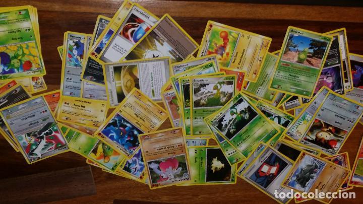 Coleccionismo Cromos antiguos: lote de 85 cromos de pokemon, cartas - Foto 5 - 236444565