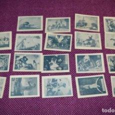 Coleccionismo Cromos antiguos: ANTIGUO / VINTAGE -- 19 CROMOS / CUADROS DE GOYA - EDITORIAL COSTA / AÑOS 50 ¡MIRA! LOTE 06. Lote 236452490