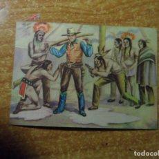 Coleccionismo Cromos antiguos: POLICIA MONTADA DEL CANADA CROMO Nº 52 FHER NUNCA PEGADO 1946. Lote 236531280