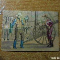 Coleccionismo Cromos antiguos: POLICIA MONTADA DEL CANADA CROMO Nº 53 FHER 1946. Lote 236531445