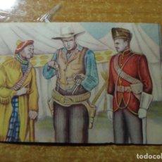 Coleccionismo Cromos antiguos: POLICIA MONTADA DEL CANADA CROMO Nº 57 FHER NUNCA PEGADO 1946. Lote 236532315