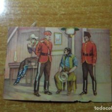 Coleccionismo Cromos antiguos: POLICIA MONTADA DEL CANADA CROMO Nº 58 FHER NUNCA PEGADO 1946. Lote 236532430