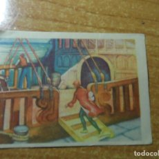 Coleccionismo Cromos antiguos: ROBINSON CRUSOE CROMO Nº 2 EDITORIAL AGUILAR NUNCA PEGADO. Lote 236533745