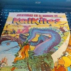 Coleccionismo Cromos antiguos: AVENTURAS EN EL MUNDO DE KALKITOS. Lote 236611955