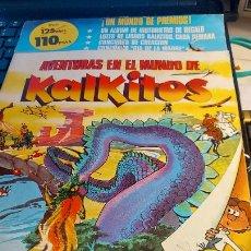 Coleccionismo Cromos antiguos: AVENTURAS EN EL MUNDO DE KALKITOS. Lote 236612155