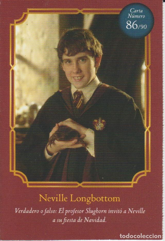 Coleccionismo Cromos antiguos: Nº 86 - HARRY POTTER - WIZARDING WORLD - CARREFOUR 2020 - NEVILLE LONGBOTTOM - Foto 1 - 236985825