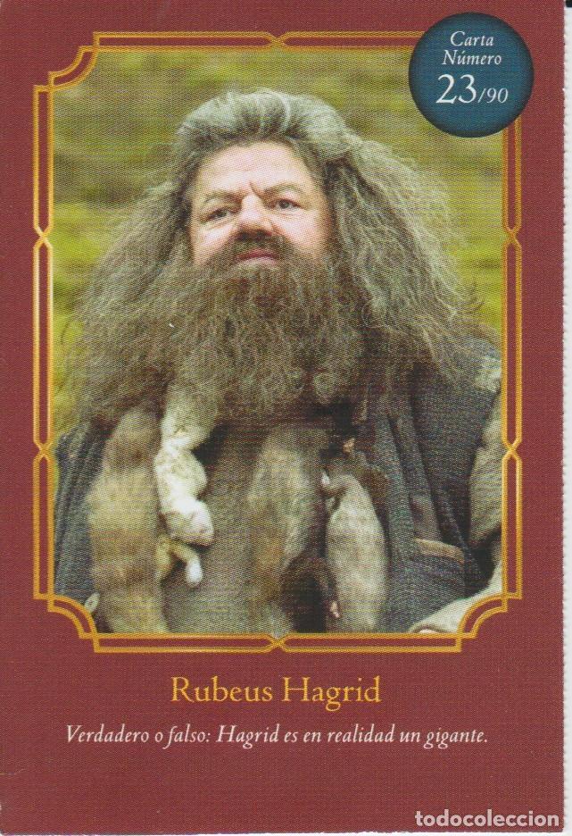 Nº 23 - HARRY POTTER - WIZARDING WORLD - CARREFOUR 2020 - RUBEUS HAGRID (Coleccionismo - Cromos y Álbumes - Cromos Antiguos)