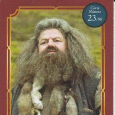 Coleccionismo Cromos antiguos: Nº 23 - HARRY POTTER - WIZARDING WORLD - CARREFOUR 2020 - RUBEUS HAGRID. Lote 236986015