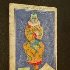 Coleccionismo Cromos antiguos: CROMO - LON CHANEY (CHOCOLATE AMATLLER). Lote 236986115