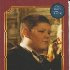 Coleccionismo Cromos antiguos: Nº 70 - HARRY POTTER - WIZARDING WORLD - CARREFOUR 2020 - CRABBE. Lote 236986475