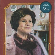 Coleccionismo Cromos antiguos: Nº 58 - HARRY POTTER - WIZARDING WORLD - CARREFOUR 2020 - DOLORES UMBRIDGE. Lote 236986765