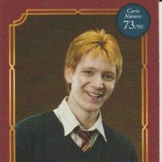 Coleccionismo Cromos antiguos: Nº 73 - HARRY POTTER - WIZARDING WORLD - CARREFOUR 2020 - GEORGE WEASLEY. Lote 236987280