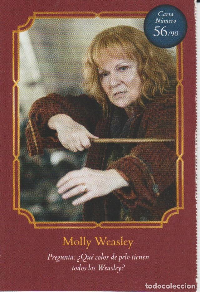 Nº 56 - HARRY POTTER - WIZARDING WORLD - CARREFOUR 2020 - MOLLY WEASLEY (Coleccionismo - Cromos y Álbumes - Cromos Antiguos)