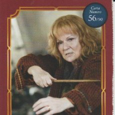 Coleccionismo Cromos antiguos: Nº 56 - HARRY POTTER - WIZARDING WORLD - CARREFOUR 2020 - MOLLY WEASLEY. Lote 236988505