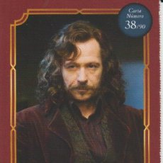 Coleccionismo Cromos antiguos: Nº 38 - HARRY POTTER - WIZARDING WORLD - CARREFOUR 2020 - SIRIUS BLACK. Lote 236988740