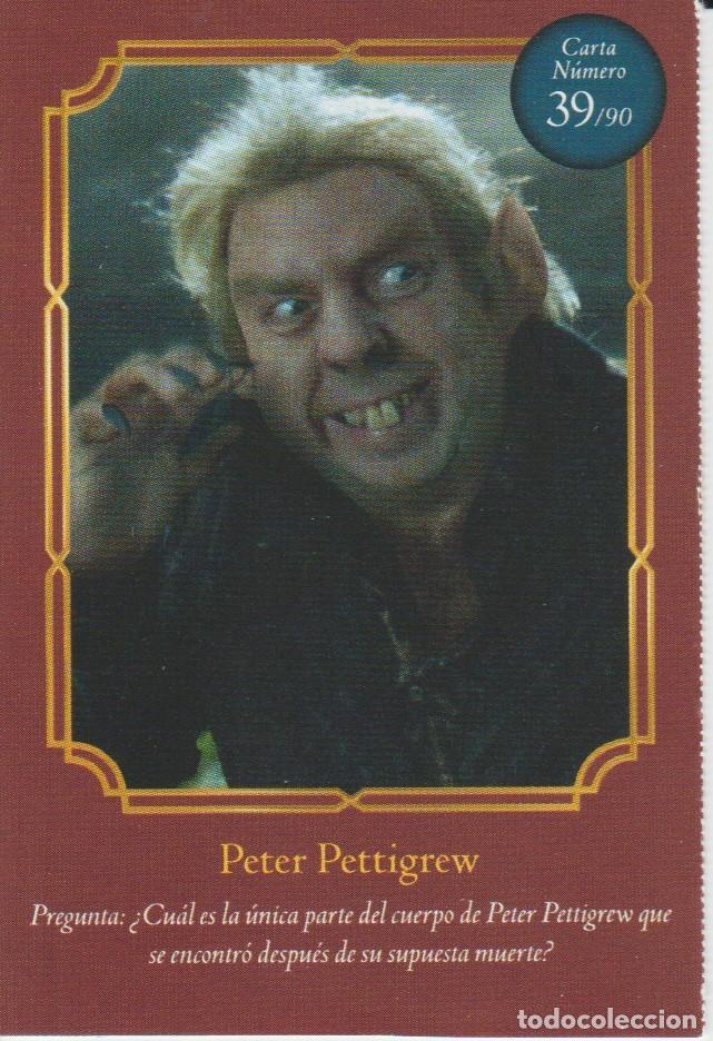 Nº 39 - HARRY POTTER - WIZARDING WORLD - CARREFOUR 2020 - PETER PETTIGREW (Coleccionismo - Cromos y Álbumes - Cromos Antiguos)