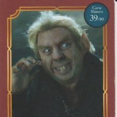 Coleccionismo Cromos antiguos: Nº 39 - HARRY POTTER - WIZARDING WORLD - CARREFOUR 2020 - PETER PETTIGREW. Lote 236989985
