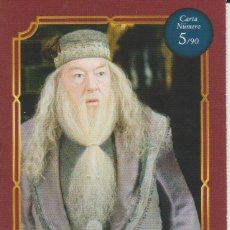 Coleccionismo Cromos antiguos: Nº 5 - HARRY POTTER - WIZARDING WORLD - CARREFOUR 2020 - ALBUS DUMBLEDORE. Lote 236990700