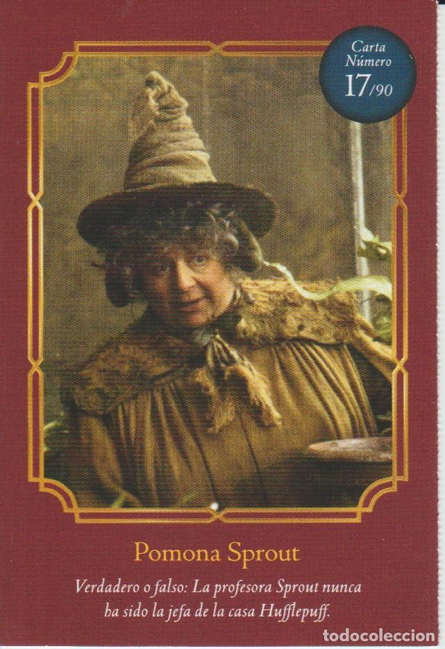 Coleccionismo Cromos antiguos: Nº 17 - HARRY POTTER - WIZARDING WORLD - CARREFOUR 2020 - POMONA SPROUT - Foto 1 - 236991115