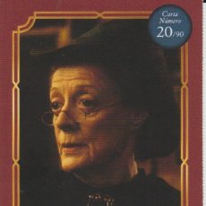 Coleccionismo Cromos antiguos: Nº 22 - HARRY POTTER - WIZARDING WORLD - CARREFOUR 2020 - MINERVA MCGONAGALL. Lote 236992230