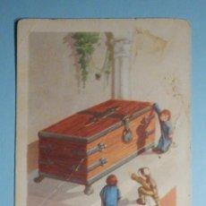 Coleccionismo Cromos antiguos: CROMO - AVENTURAS DE PAQUITO Y CARBONELLA - Nº 32 DE 36 - CHOCOLATES AMATLLER -. Lote 237023865