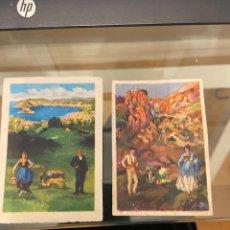Coleccionismo Cromos antiguos: TRAJES DE ESPAÑA Nº 17 Y 43 2 CROMOS NUEVOS CASA. Lote 237025600