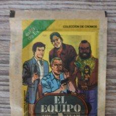 Coleccionismo Cromos antiguos: SOBRE DE CROMOS SIN ABRIR EL EQUIPO-A ED--ESTE(1983). Lote 240520475