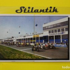 Coleccionismo Cromos antiguos: CROMO DOBLE 137 138 - MOTOR ADVENTURES 1987 - PANINI - NUNCA PEGADO - NEVER STICKED. Lote 242161280