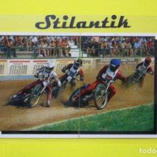 Coleccionismo Cromos antiguos: CROMO DOBLE 152 153- MOTOR ADVENTURES 1987 - PANINI - NUNCA PEGADO - NEVER STICKED. Lote 242165565