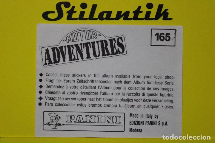 Coleccionismo Cromos antiguos: Cromo 165 MICHAEL ANDRETTI (USA) MARCH - Motor Adventures 1987 Panini - Nunca pegado - Never Sticked - Foto 2 - 242168940