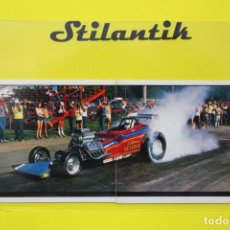 Coleccionismo Cromos antiguos: CROMO DOBLE 185 186 - MOTOR ADVENTURES 1987 - PANINI - NUNCA PEGADO - NEVER STICKED. Lote 242172420