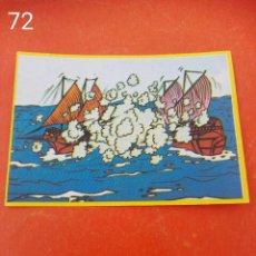 Coleccionismo Cromos antiguos: CROMO N.72 DON QUIJOTE DANONE SIN PEGAR. Lote 243446745