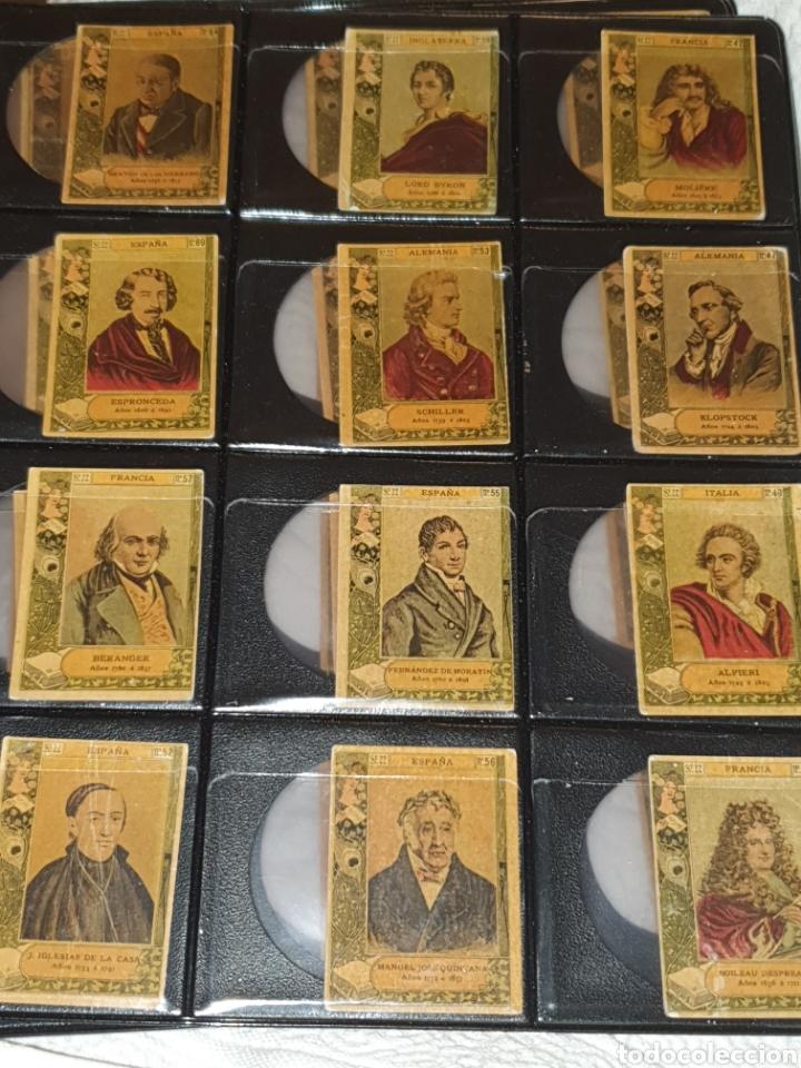 Coleccionismo Cromos antiguos: 72 cromos fototipias serie 22 todas diferentes - Foto 3 - 244617830
