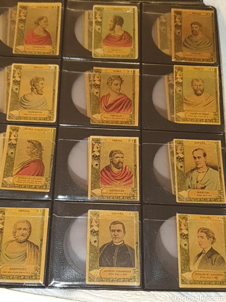 Coleccionismo Cromos antiguos: 72 cromos fototipias serie 22 todas diferentes - Foto 4 - 244617830