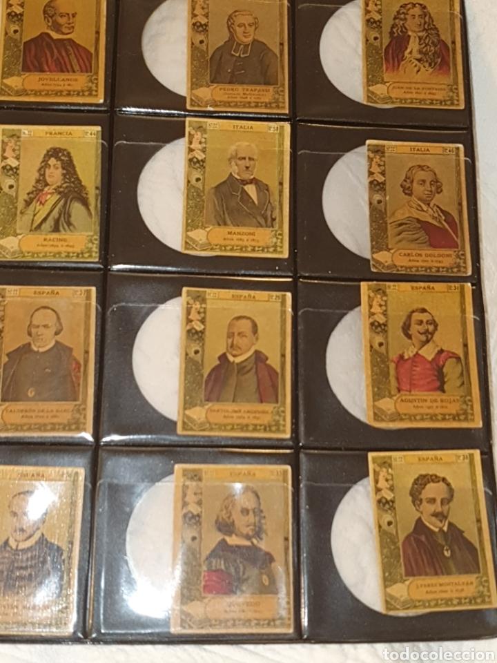 Coleccionismo Cromos antiguos: 72 cromos fototipias serie 22 todas diferentes - Foto 5 - 244617830