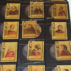 Coleccionismo Cromos antiguos: 72 CROMOS FOTOTIPIAS SERIE 22 TODAS DIFERENTES. Lote 244617830