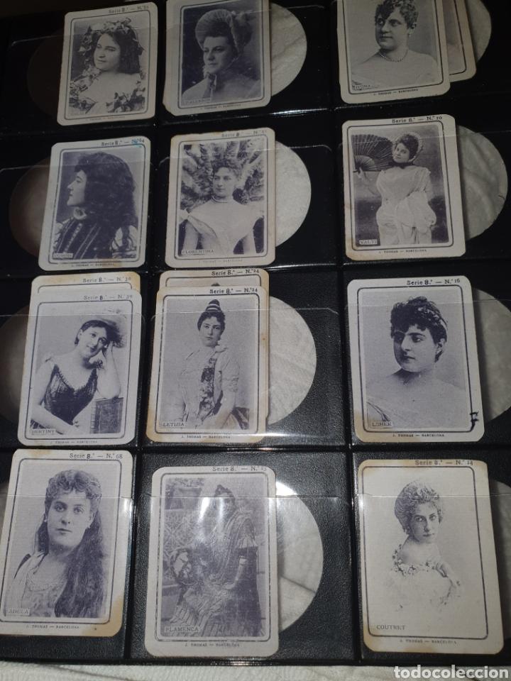 16 CROMOS FOTOTIPIAS SERIE 8 (Coleccionismo - Cromos y Álbumes - Cromos Antiguos)