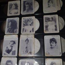 Coleccionismo Cromos antiguos: 16 CROMOS FOTOTIPIAS SERIE 8. Lote 244618040