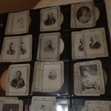 Coleccionismo Cromos antiguos: 61 CROMOS FOTOTIPIAS SERIE 9A TODAS DIFERENTES. Lote 244618255