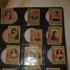 Coleccionismo Cromos antiguos: 38 CROMOS FOTOTIPIAS SERIE 21 TODAS DIFERENTE. Lote 244618480
