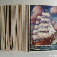 Coleccionismo Cromos antiguos: COLECCION DE CROMOS COMPLETA UN CAPITAN DE QUINCE AÑOS 36 CROMOS. Lote 244624515