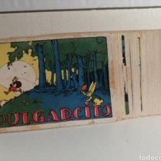 Coleccionismo Cromos antiguos: COLECCION DE CROMOS COMPLETA PULGARCITO CHOCOLATES SAN FERNANDO 25 CROMOS. Lote 244625880