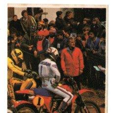 Coleccionismo Cromos antiguos: CROMO - TODO MOTO - EDICIONES CROMOS CANO - Nº 56 - NUNCA PEGADO - AÑO 1983. Lote 244675070