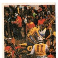 Coleccionismo Cromos antiguos: CROMO - TODO MOTO - EDICIONES CROMOS CANO - Nº 55 - NUNCA PEGADO - AÑO 1983. Lote 244675345