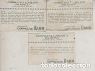 Coleccionismo Cromos antiguos: lote de 3 cromos PUBLICIDAD CERVEZA DAMM - Nº 7 48 58 - Foto 2 - 244877275