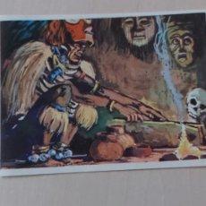 Coleccionismo Cromos antiguos: Nº 196 CROMO - ALBUM ENCICLOPEDIA CULTURA COLOR - BRUGUERA 1967 - CROMO RECUPERADO. Lote 245018400