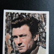Coleccionismo Cromos antiguos: CROMO DE LAWRENCE HARVEY, 1965 CIGARRILLOS CUMBRE NÚMERO 38. Lote 245305425