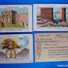 Coleccionismo Cromos antiguos: LOTE DE CROMOS. CROMOS SUELTOS; 2,00 €. LA SAGRADA FAMILIA, CHOCOLATES SOLÉ ALSINA, S/F.. Lote 245910215